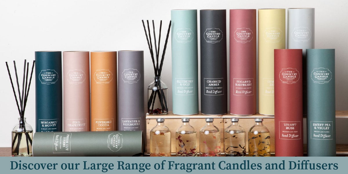 The Country Candle Pastel Collection